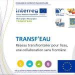 Présentation du projet Transf'Eau lors du comité du 27.11.2017
