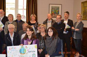 """Conférence de presse """"écoles propres"""" 06/03/17 (c) Ville de Virton"""